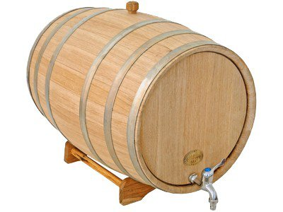 Oak barrel 13.2, 21.1 gal (50, 80 L)