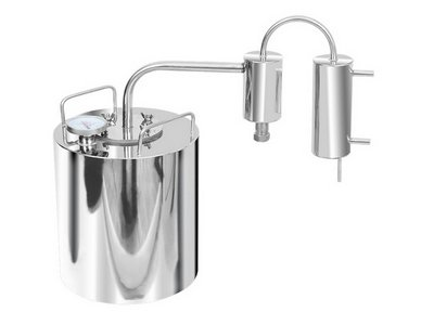 Stainless steel still Dream with still-head + thermometer