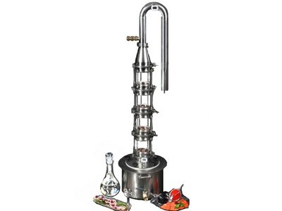 Reflux distiller for vodka and spirit Lux