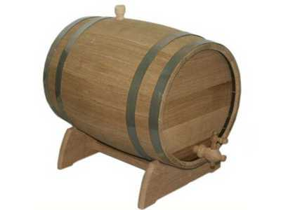 Oak barrel Export on a stand