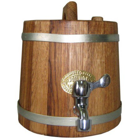 Use the oak jug for making cognac!