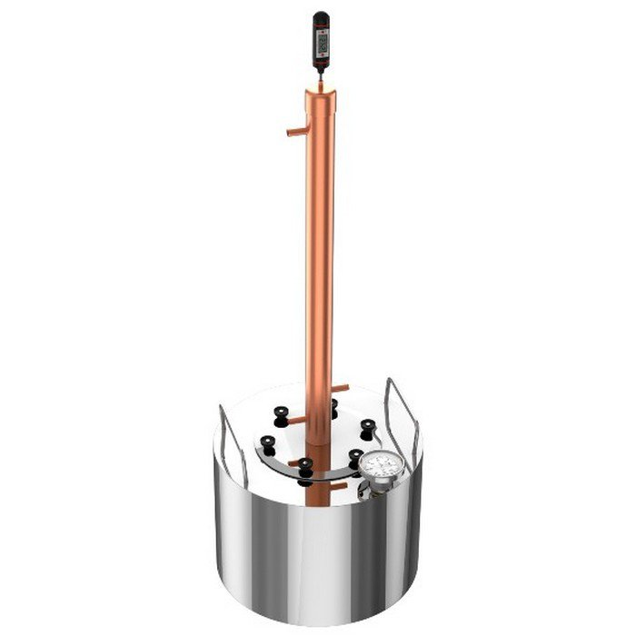 Moonshine distiller Luxe in assembly