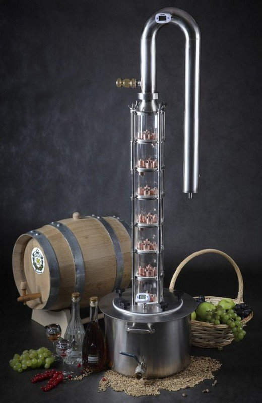 Alcohol distiller 'Grand Plus'